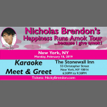 VIP Meet and Greet - New York (NY) in New York le Mon, February 18, 2019 from 06:30 pm to 09:30 pm (Show Gay)