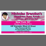 Nicholas Brendon Karaoke Meet and Greet - New York (NY) à New York le lun. 18 février 2019 de 18h30 à 21h30 (Spectacle Gay)
