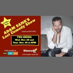 Adam Sank's Last Comedy Show à New York le mer. 28 novembre 2018 de 20h00 à 21h30 (Spectacle Gay)