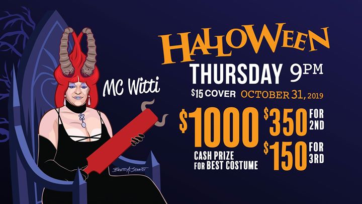 Eagle Halloween in New York le Thu, October 31, 2019 from 09:00 pm to 04:00 am (Clubbing Gay)
