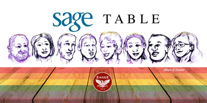 SAGE Table in New York le Fri, November  8, 2019 from 06:00 pm to 08:00 pm (Meetings / Discussions Gay)