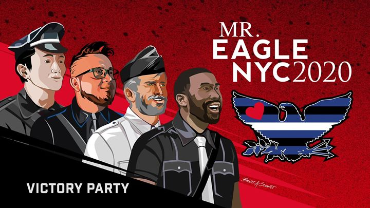 Mr. Eagle NYC 2020 in New York le Fri, October  4, 2019 from 09:00 pm to 04:00 am (Clubbing Gay)