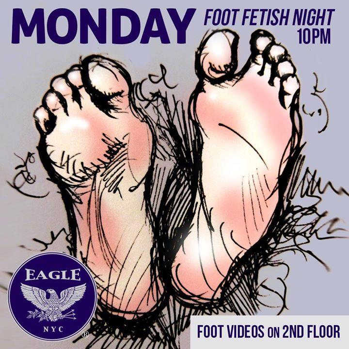 Foot Fetish Mondays a New York le lun  1 giugno 2020 22:00-04:00 (Clubbing Gay)