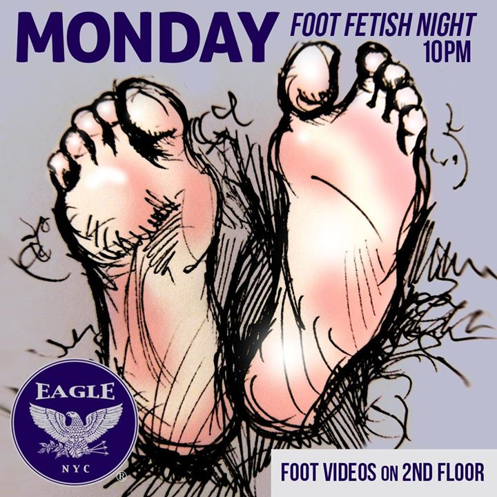 Foot Fetish Mondays à New York le lun. 19 août 2019 de 22h00 à 04h00 (Clubbing Gay)