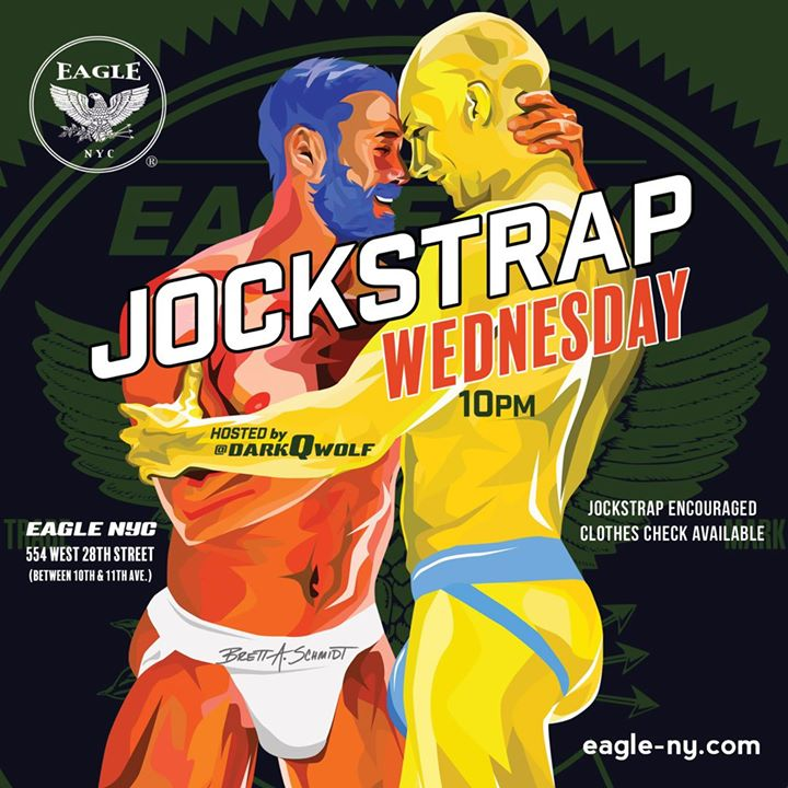 Jockstrap Wednesday à New York le mer.  3 juillet 2019 de 17h00 à 04h00 (Clubbing Gay)