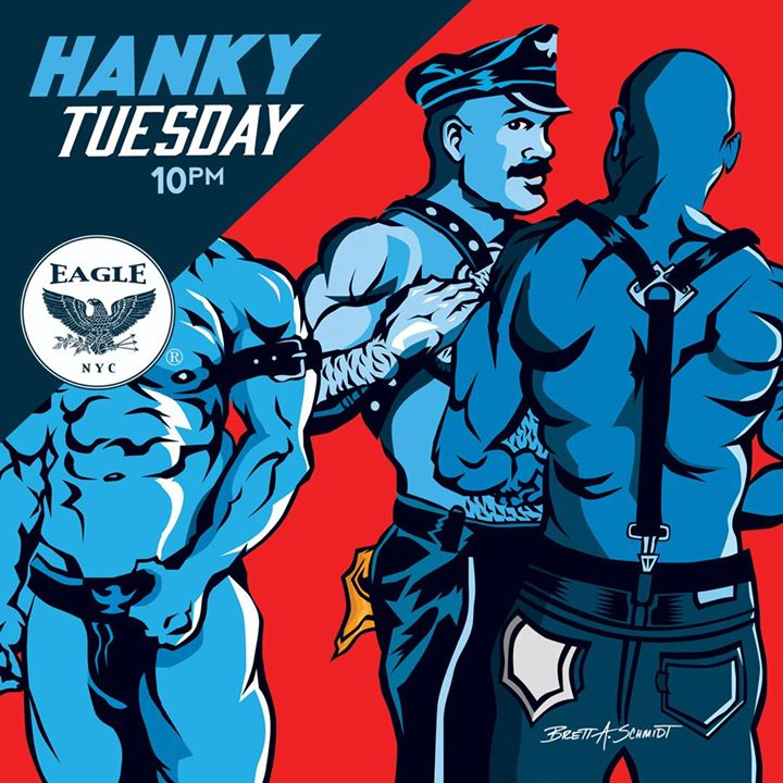 Hanky Tuesdays in New York le Tue, August 13, 2019 from 10:00 pm to 04:00 am (Clubbing Gay)