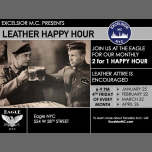 Leather Happy Hour en Nueva York le vie 22 de marzo de 2019 18:00-21:00 (Clubbing Gay)