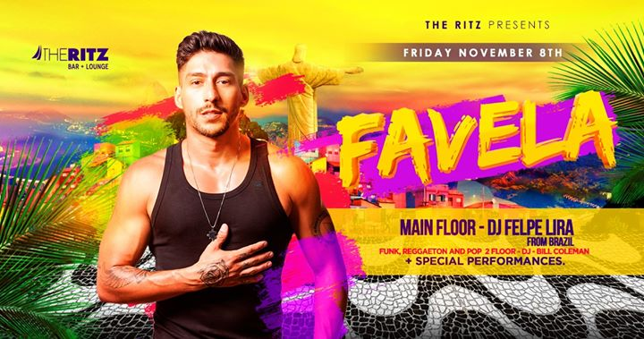 Favela in New York le Fri, November  8, 2019 from 10:00 pm to 04:00 am (Clubbing Gay)