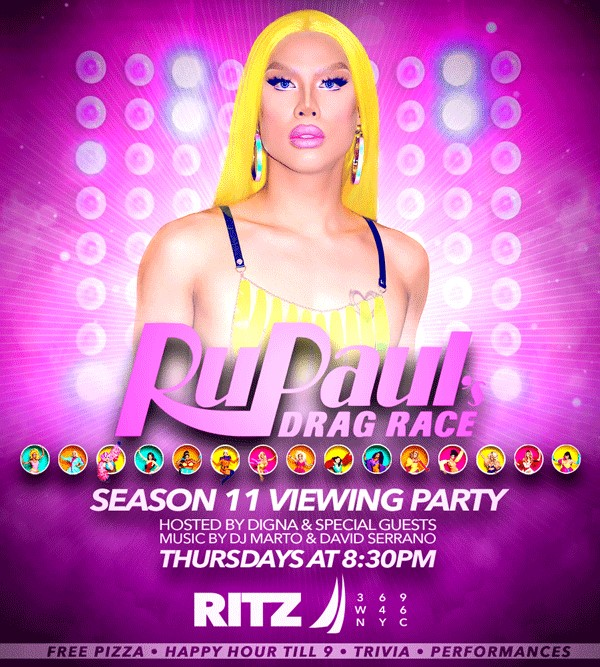 Season 11 Viewing Party à New York le jeu. 30 mai 2019 de 20h30 à 22h30 (After-Work Gay)