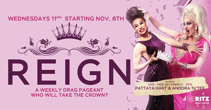 REIGN Wednesdays à New York le mer.  6 novembre 2019 de 23h00 à 04h00 (Clubbing Gay)