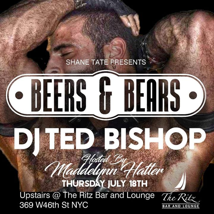 Beers & Bears a New York le gio 18 luglio 2019 18:00-00:00 (After-work Gay)