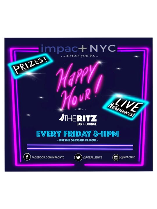 Impac+NYC Happy Hour Member Night! à New York le ven.  8 novembre 2019 de 20h00 à 23h00 (After-Work Gay)