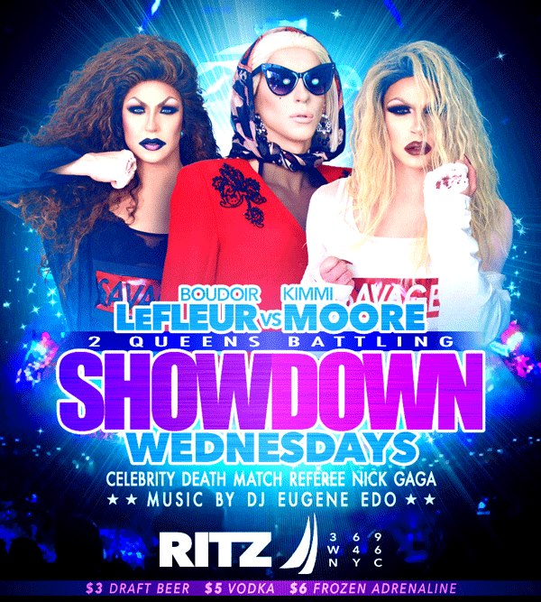 The Showdown Wednesdays à New York le mer. 15 mai 2019 de 22h00 à 04h00 (Clubbing Gay)
