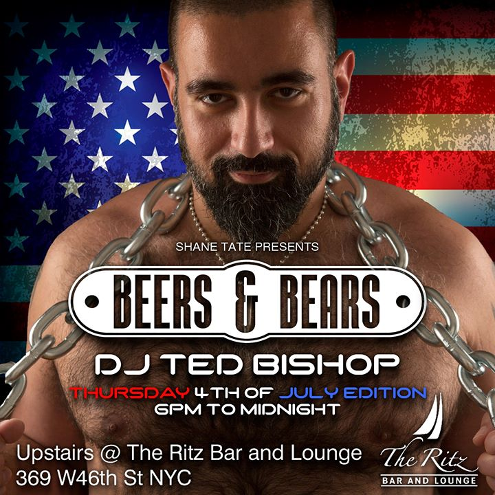 Beers & Bears en Nueva York le jue  4 de julio de 2019 18:00-00:00 (After-Work Gay)