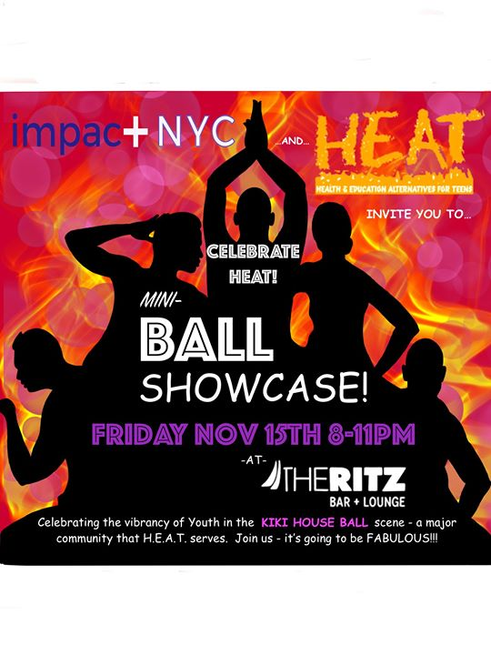 Celebrate HEAT: featuring the HEAT House Ball Showcase à New York le ven. 15 novembre 2019 de 20h00 à 23h00 (After-Work Gay)
