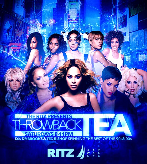 Throwback Tea Saturdays à New York le sam.  6 juillet 2019 de 20h00 à 23h00 (After-Work Gay)