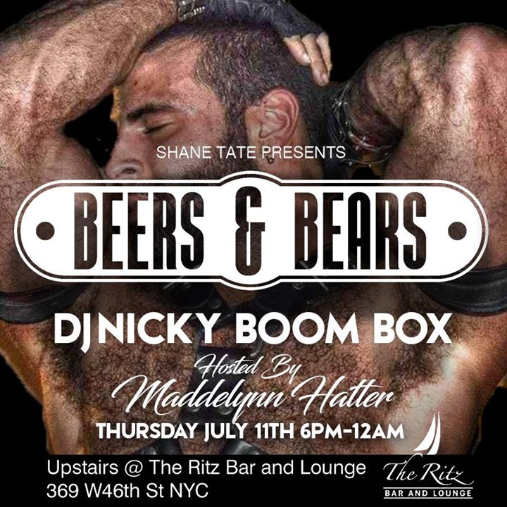 Beers & Bears a New York le gio 11 luglio 2019 18:00-00:00 (After-work Gay)