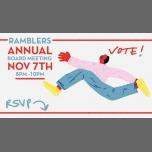 纽约Ramblers Annual Board Meeting + Elections2018年 8月 7日,20:00(男同性恋, 异性恋友好, 双性恋 协会生活)