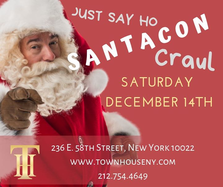 The Townhouse Santa Con Craul a New York le sab 14 dicembre 2019 16:00-04:00 (Clubbing Gay)