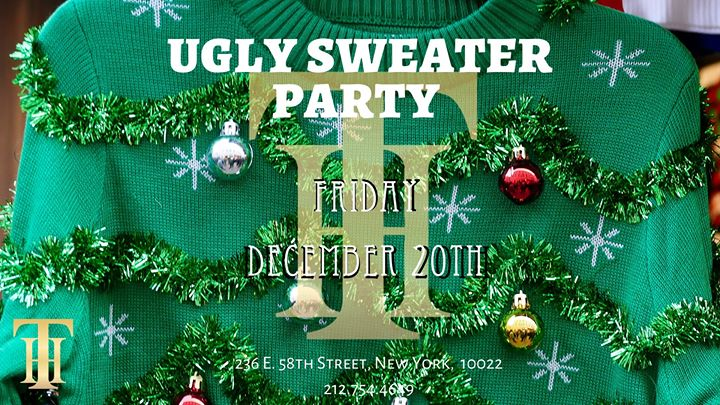 The Townhouse Ugly Sweater Party a New York le ven 20 dicembre 2019 16:00-04:00 (Clubbing Gay)