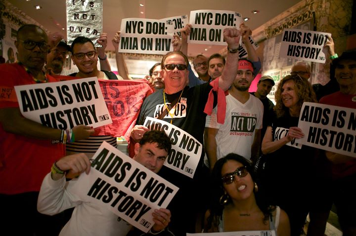 ACT UP/NY General Meeting à New York le lun.  1 juillet 2019 de 19h00 à 21h00 (Rencontres / Débats Gay, Lesbienne)