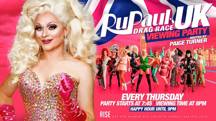 RuPauls Drag Race UK hosted by: Paige Turner en Nueva York le jue 12 de diciembre de 2019 19:30-21:00 (After-Work Gay)