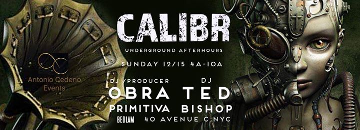 Calibr Underground After Hours en Nueva York le dom 15 de diciembre de 2019 04:00-10:00 (After Gay)
