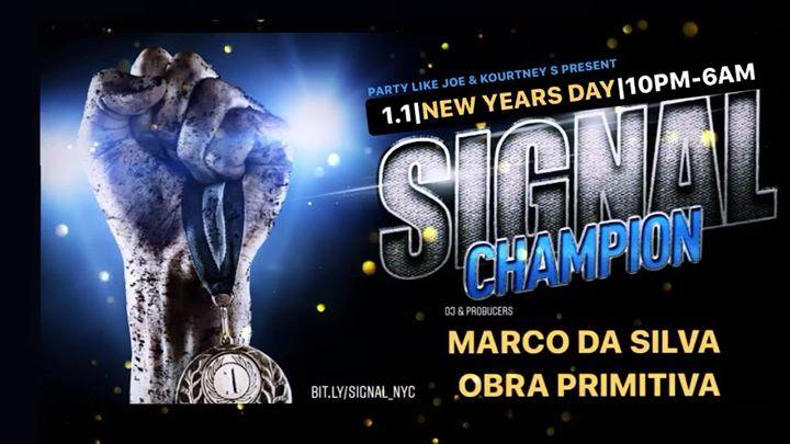 Champion NYD 2020 w/ Marco Da Silva & Obra Primitiva 1.1.20 10pm à New York le mer.  1 janvier 2020 de 22h00 à 06h00 (Clubbing Gay)