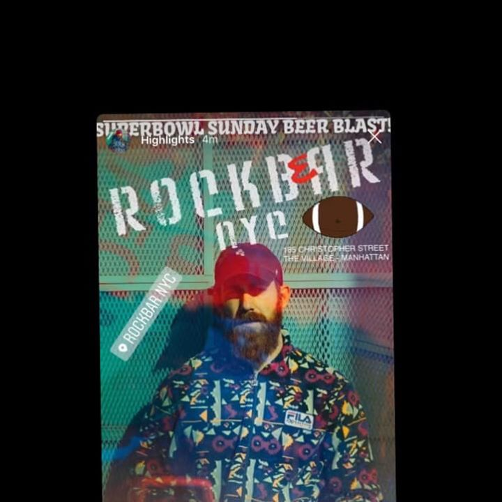 Rockbear PLUS Special Super Bowl Sunday Beer Blast! in New York le Sun, February  2, 2020 from 03:00 pm to 09:00 pm (After-Work Gay)
