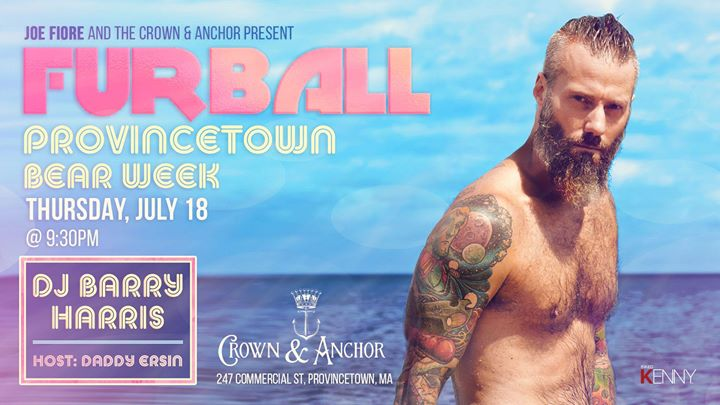 Furball Provincetown Bear Week 2019 em Provincetown le qui, 18 julho 2019 21:30-01:00 (Clubbing Gay)