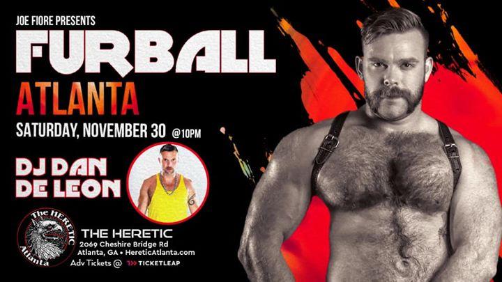 Furball XXX Atlanta - Dan De León en Atlanta le sáb 30 de noviembre de 2019 a las 22:00 (Clubbing Gay, Oso)