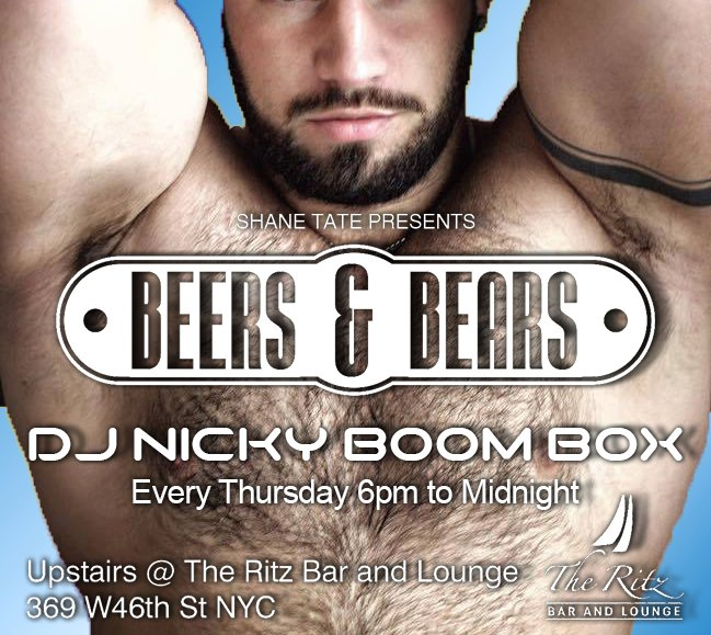 BEERS & BEARS in New York le Do 26. September, 2019 18.00 bis 00.00 (After-Work Gay, Bear)
