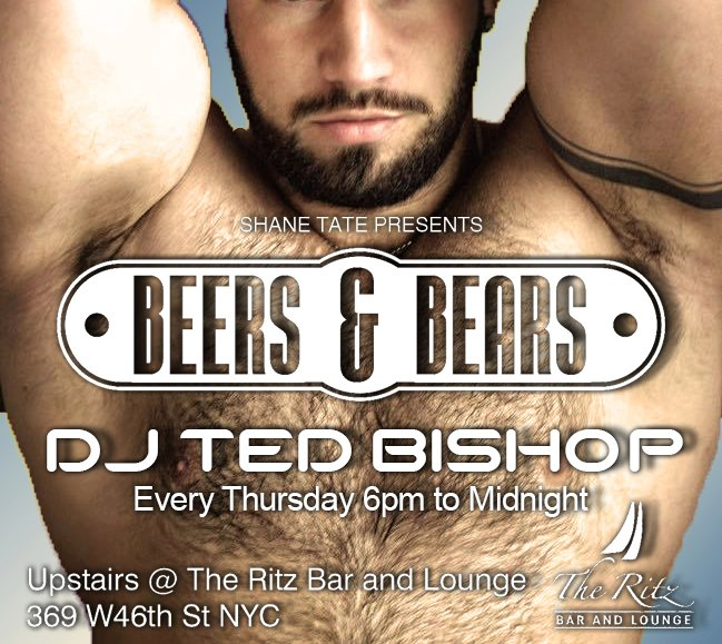 BEERS & BEARS in New York le Do 19. September, 2019 18.00 bis 00.00 (After-Work Gay, Bear)