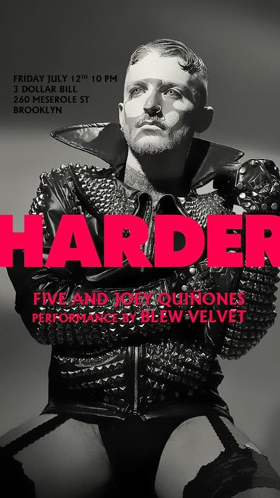 HARDER -Season closer in New York le Fri, July 12, 2019 from 10:00 pm to 04:30 am (Clubbing Gay)