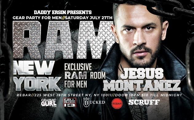 RAM Party - NYC à New York le sam. 27 juillet 2019 de 22h00 à 04h00 (Clubbing Gay)