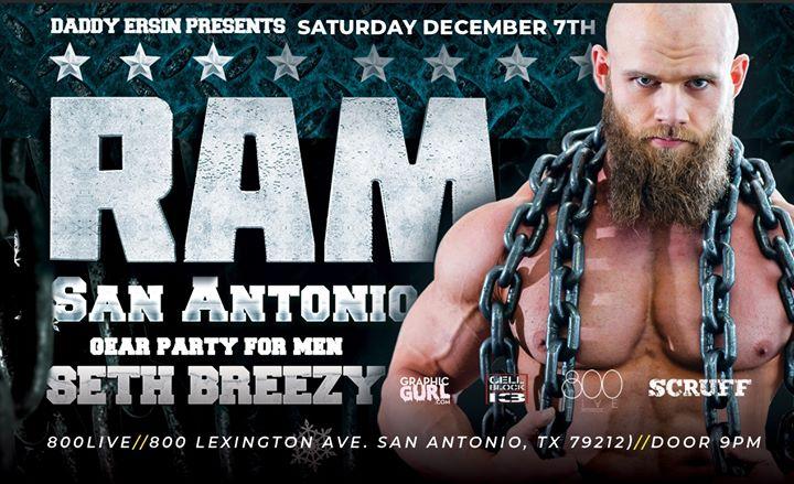 RAM Party - San Antonio à San Antonio le sam.  7 décembre 2019 de 21h00 à 02h00 (Clubbing Gay)