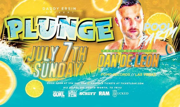 Plunge Pool Party - Dallas/Fort Worth 4th of July Weekend em Fort Worth le dom,  7 julho 2019 13:00-19:00 (After-Work Gay)
