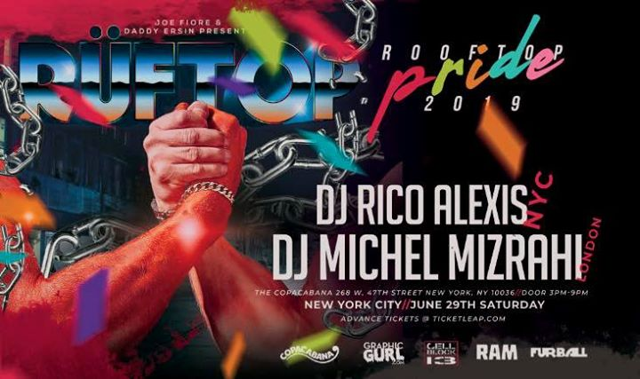 Rüftop Rooftop Party(World Pride) em Nova Iorque le sáb, 29 junho 2019 15:00-21:00 (After-Work Gay)
