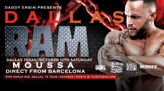 RAM Party - Dallas em Dallas le sáb, 12 outubro 2019 22:00-02:00 (Clubbing Gay)