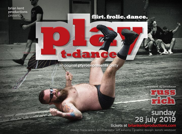 PLAY T-Dance 2019 in San Francisco le Sun, July 28, 2019 from 06:00 pm to 01:00 am (Clubbing Gay)