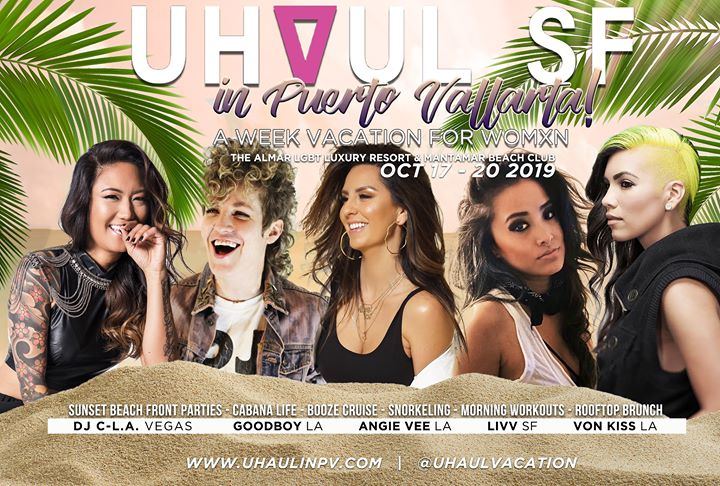 UHAUL Vacation in Puerto Vallarta! Oct 17-20th 2019 in Puerto Vallarta from 17 til October 21, 2019 (Clubbing Gay)