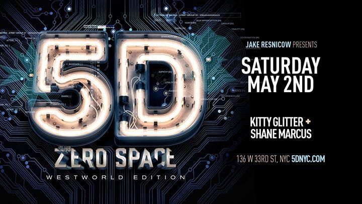 Club ZeroSpace: 5D ⁑ Westworld Edition ⁑ New York City in New York le Sa 27. Juni, 2020 22.30 bis 05.00 (Clubbing Gay)