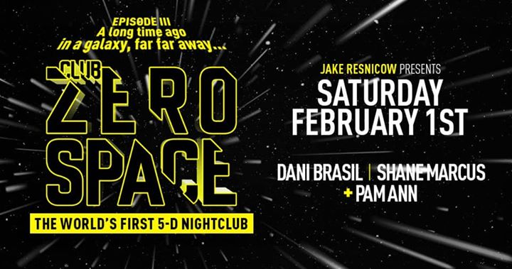 Club ZeroSpace ⁑ Episode 3 ⁑ World's First 5-D Nightclub à New York le sam.  1 février 2020 de 22h30 à 05h00 (Clubbing Gay)