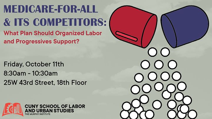 Medicare-For-All & Its Competitors: A Debate en Nueva York le vie 11 de octubre de 2019 09:00-10:30 (Reuniones / Debates Gay, Lesbiana, Trans, Bi)
