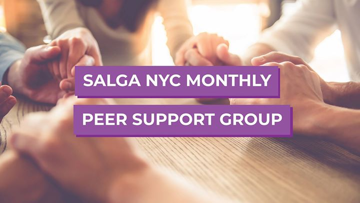 Join SALGA NYC at Peer Support Group in New York le Sat, October 12, 2019 from 04:00 pm to 06:00 pm (Meetings / Discussions Gay, Lesbian, Trans, Bi)