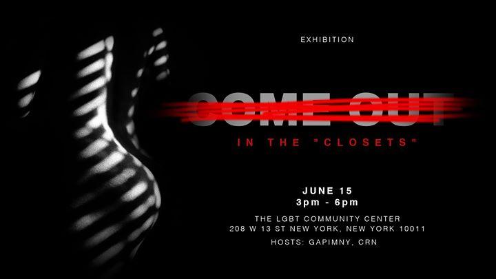 """In the """"Closets"""" - Asian Queer Photography Exhibition à New York le sam. 15 juin 2019 de 15h00 à 18h00 (Expo Gay, Lesbienne, Trans, Bi)"""