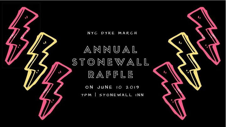 NYC Dyke March Annual Raffle à New York le lun. 10 juin 2019 de 19h00 à 22h00 (After-Work Gay, Lesbienne, Trans, Bi)