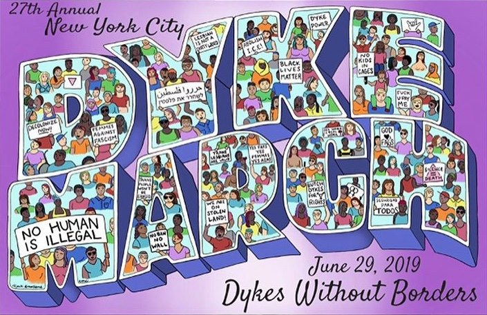 27th Annual NYC Dyke March en Nueva York le sáb 29 de junio de 2019 a las 17:00 (Marchas / Desfiles Gay, Lesbiana, Trans, Bi)