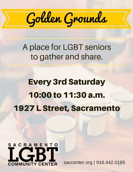 Golden Grounds LGBTQ Meetup à Sacramento le sam. 19 octobre 2019 de 10h00 à 11h30 (Rencontres / Débats Gay, Lesbienne, Trans, Bi)