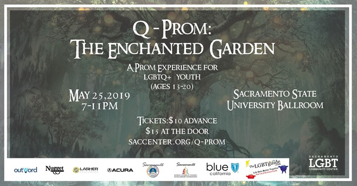 Q-Prom 2019 in Sacramento le Sat, May 25, 2019 from 07:00 pm to 11:00 pm (Meetings / Discussions Gay, Lesbian, Trans, Bi)
